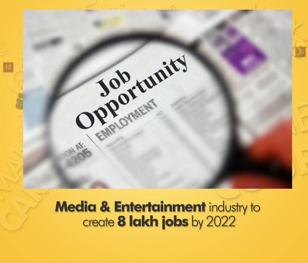 media entertainment industry jobs