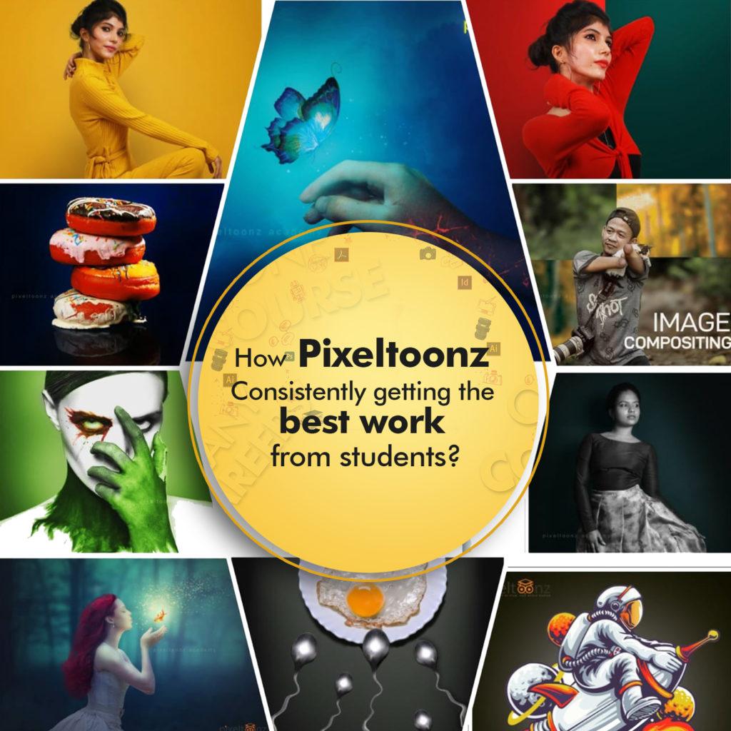 Pixeltoonz best student works